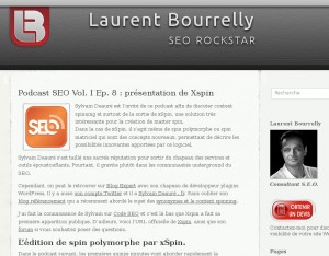 Podcast Laurent Bourrelly